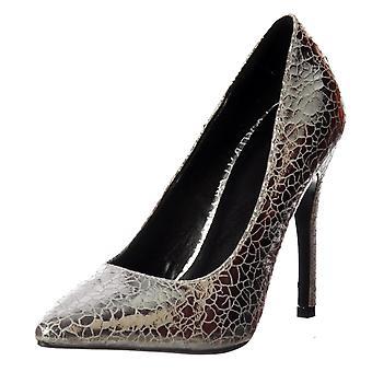 Onlineshoe Party Mid Heel Zapatos de corte puntiagudos