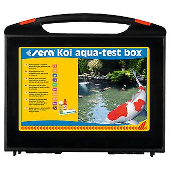 Sera Koi Aqua-Test Box (Fish , Ponds , pH & Other Substance Test Strips)