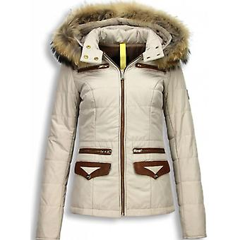 Winter Coats - Winter Coat Short- Xtra Pocket Edition - Beige
