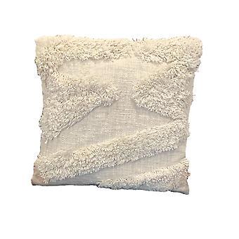 Spura Accueil Indien Confortable Edgey Beige Moroccan Style Oreillers 18x18