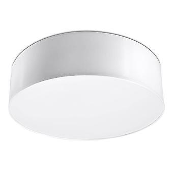 Sollux ARENA - 2 Licht Flush Round Plafond licht wit, E27