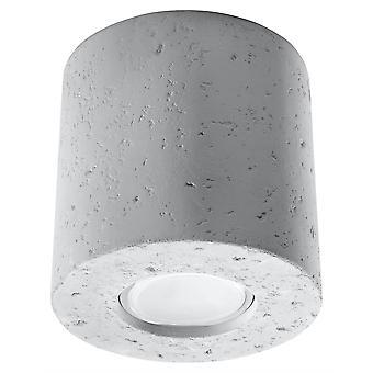 Sollux ORBIS - 1 superficie leggera montata giùluvato bianco, GU10