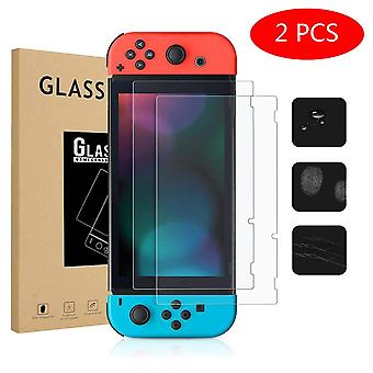 1/2 pc's screenprotectors voor Nintend Switch High Protection