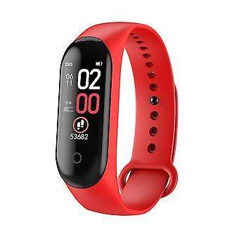 Waterproof smart fitness wristband heart rate blood pressure tracker bracelet