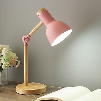 Lámpara de mesa nórdica Moderna dormitorio lámpara de noche, lámpara de estudio de lectura de oficina