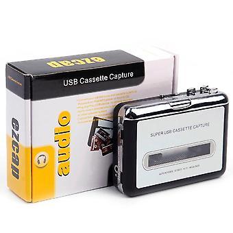 Portable Mp3 Cassette Capture To Usb Tape Pc Super Music Player Audio Converter Recorders Players
