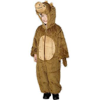 Kids Unisex Camel Costume Animal Fancy Dress Jumpsuit