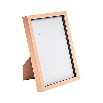 """Nicola Frühling Acryl Box Fotorahmen - helles Holz - 8 x 12"""" (A4)"""