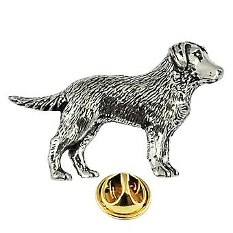 Banden Planet Labrador Hond Engels Pewter Repel Pin Badge