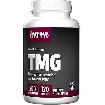 Jarrow Formulas TMG (Trimetyyliglysiini), 500 mg, 120 Tabs