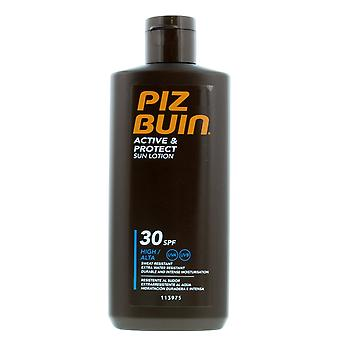 2 x Piz Buin Active & Protect Sun Lotion SPF30 - 200ml