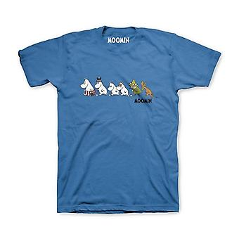 Moomins Trail (Blue) T-Shirt
