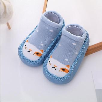 Baby Shoe Socks Cotton With Rubber Soles Bebe