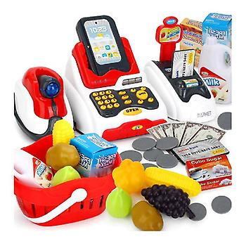 Multi-function Emulation Cash Register And Card Reader Pretent Play Toy