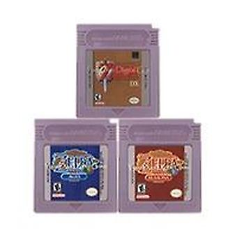 16 Bit Video Game Cartridge Console Card Zeld Series English Language