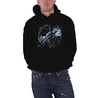 Pink Floyd Hoodie Wish You were Here Machine Blue Officiel Homme Black Pullover