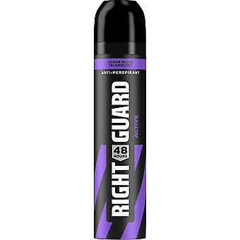 Right Guard 3 X Right Guard Total Defence Deodorant Aerosol For Men - Active