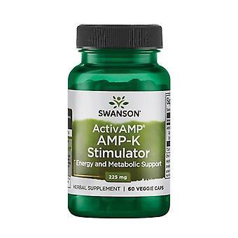 Ultra ActivAMP AMP-K Stimulator 60 vegetable capsules of 225mg