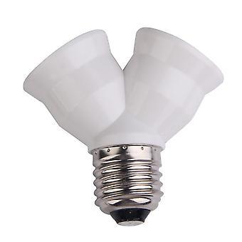 E27 Socket Base Extend Plug Lampholder Bulb Holder Adapter Converter