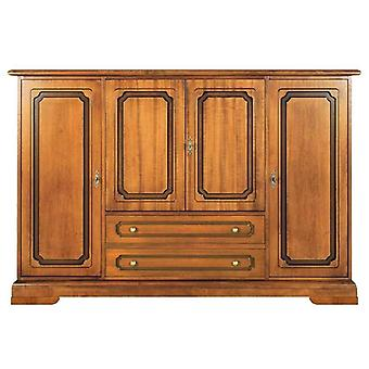 Schrank im klassischen Stil 4 Holztüren