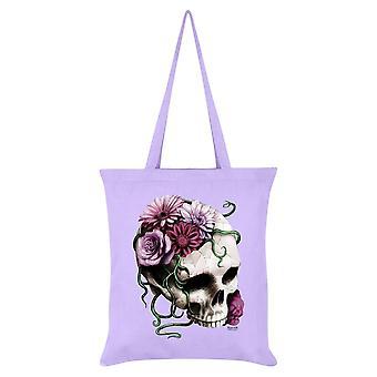 Requiem Collective Cranial Bloom Tote Bag