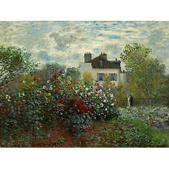 クロード ・ モネのアルジャントゥイユ ポスター印刷のアーティスト ガーデン