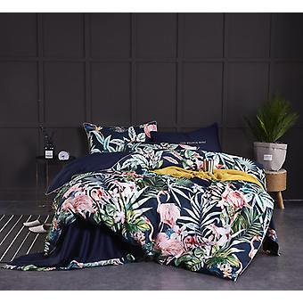 Hd gedruckt Premium ägyptische Baumwolle seidig weiche Bettbezug Set