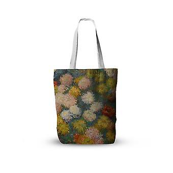 Van Gogh oljemålning Canvas Tote Bag / Retro Art Fashion Travel Vikbara