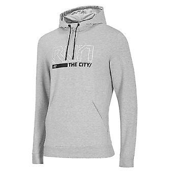 4F BLM017 H4Z20BLM017CHODNYJASNYSZARYMELAN universal all year men sweatshirts