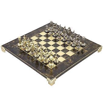 Manopoulos griechische römische Armee Metall Schachspiel