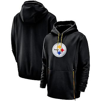 Pittsburgh Steelers Men's Sideline Performance Player Pullover Hoodie Top WYX015