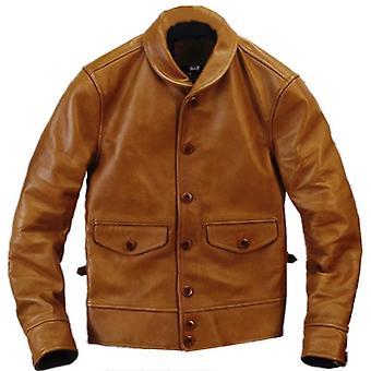 Classis Cossack Horsehide Coat Man Genuine Leather Jacket