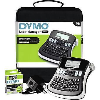 Stampante di etichette DYMO Labelmanager 210D adatto per rotoli: D1 6 mm, 9 mm, 12 mm