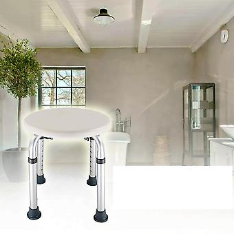 Seat Height Adjustable Chair, Disabled Home Kids Shower Stool, Non Slip Toilet