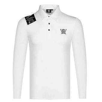 Nieuwe Lange Mouw Sport T-shirt - Mannen Golf Kleding