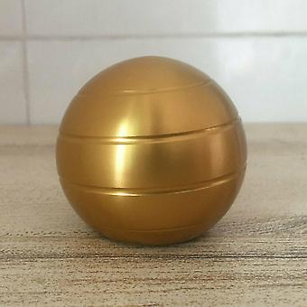 Dekompresní gyroskop stolní toy 45mm zlatá