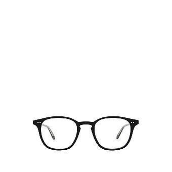 Garrett Leight CLARK matte black unisex eyeglasses