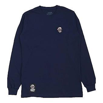 Scramble Skabuki Long Sleeve T-Shirt  Navy