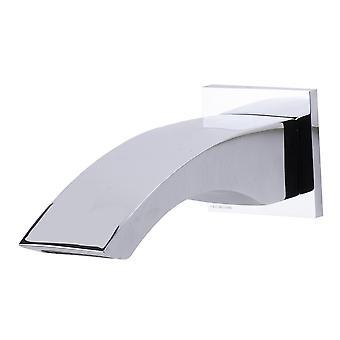 Alfi marca Ab3301-Pc pulido cromo curvado pared montado tub Filler baño Spout