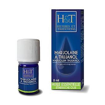 Marjoram essential oil with thujanol (Origanum majorana) 10 ml of essential oil