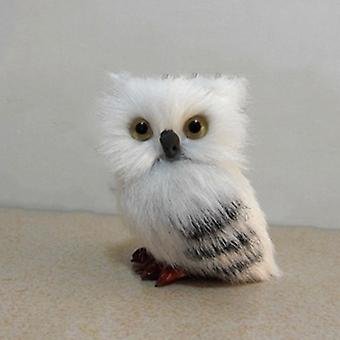 Cute Owl Handmade, Crafts Collection For Office Decoration, Miniature Figurines