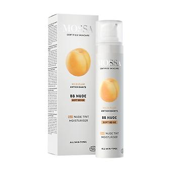 Moisturizing cream with smoothing color 50 ml of cream