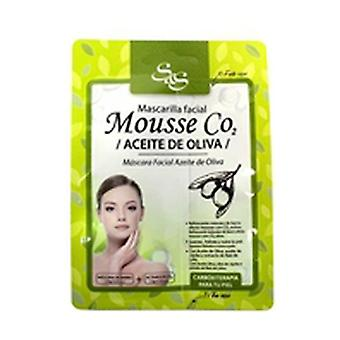 Mousse CO2 mask with olive oil 1 unit