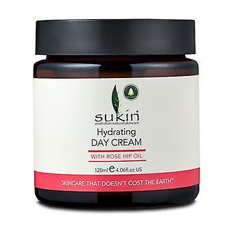 Day cream with rosehip oil 120 ml of cream