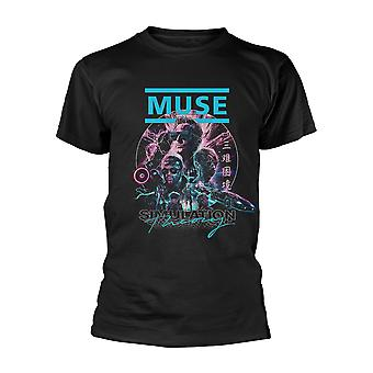 Muse Simulation Theory Officiële T-Shirt Unisex