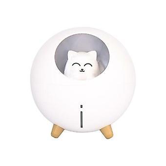 Lovely Pet Air Humidifier 220ml Ultrasonic Romantic Color Led Lamp Usb