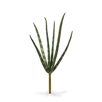 Kunst mini Sanseveria Cylindrica boeket 20 cm