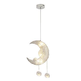 Snygg utsökt fjädringsljus Moon Star Taklampa för vardagsrum