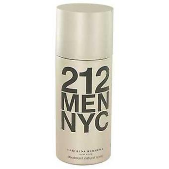 212 By Carolina Herrera Deodorant Spray 5 Oz (men) V728-414600