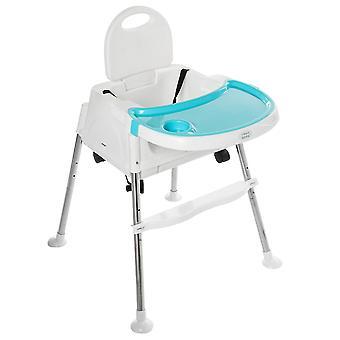 bærbar baby høy stol stabil middag bord multifunksjonell justerbar folding
